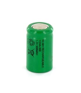 Elemento NiMh 1/2AA 500mAh - 1691/2AA500