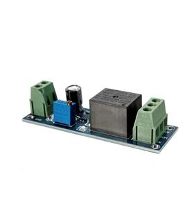 Módulo Rele Temporizado c/ Interruptor Monostável Retardado - MXM0160