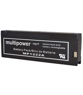 MP1250 - Bateria Gel Chumbo 12V 2Ah - MP1250