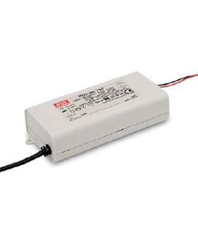 PCD60-1400B - LED Power Supplies 60.2W 25-43VDC 1400mA - PCD60-1400B