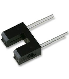 GP1S53VJ000F - Interruptor Óptico, 13.7 x 5.2 x 10mm - GP1S53VJ000F