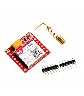 SIM800A GPRS/GSM Shield Quad-Band Module with Antenna MCU - SIM800A