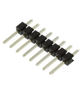 2211S-08G - Conector Macho/ Macho , 2.54 mm, 8 Pinos - 2211S-08G