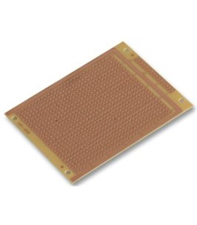 Placa Prototipagem, 95x76x1.6mm, Fenólico - MC01010