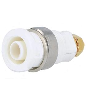 Alveolo Painel 4mm - 32A/250VAC - Branco - AP4W32A