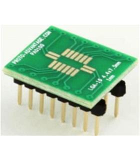 PA0100 - Adaptador SMT, LGA16 Para DIP16 - PA0100