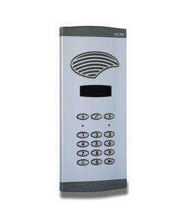 Placa c/ fónico digital, display numérico, porta Int. Port. - PAK-42000