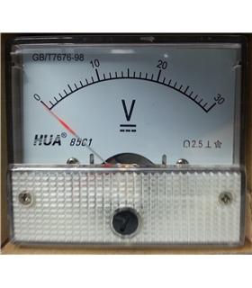 Voltimetro 0-75VDC - V75V