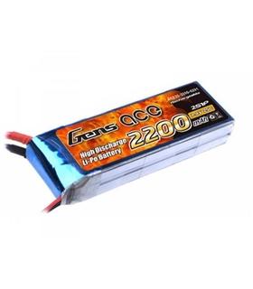 Bateria Gens Ace 7.4V 2200mAh 25C - B25C22002S1P