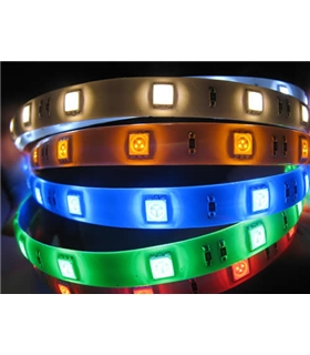 Fita LED Samsung Flexivel 60LED 24V 14.4W Branco 6500k IP67 - AFL60U14424MHCW