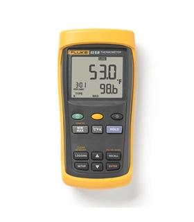 Fluke 53 II B - Digital Thermometer with Data Logging - 3821096