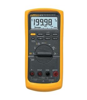 FLUKE87V - Multímetro digital TRMS,Vac/dc,Aac/dc,Ohm,Retroil - 3947858