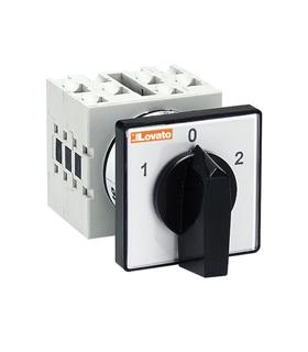 GX1651U - Interruptor rotativo; 3-posições; 16A - GX1651U