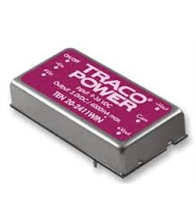 TEN5-1223 - DC/DC Converter +15 -15VDC 6W - TEN5-1223