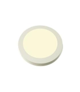 Painel LED Redondo de Superficie 230V 18W 4000k 22cm - LL662/18S84