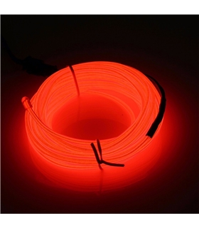 Fio Eletroluminescente Vermelho - LL599