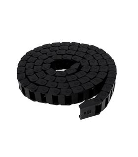 Corrente Porta Cabos 15x20mm para Impressora 3D e CNC 1mt - MXI0139