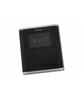Placa compacta Leitor chaves proximidade iAccess Iblack - LPR-900