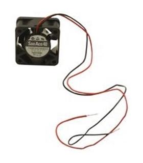 109P0424H702 - Ventilador 24Vdc, 40x40x15mm, 1.92W, 2 Fios - MX109P0424H702