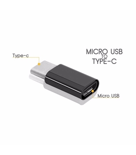 Adaptador USB-C Macho Micro-USB Femea Branco - USBCMICROUSBW