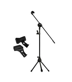 Suporte Para Microfone Profissional - TRIPEMIC08
