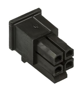 MX-43025-0400 - Ficha Molex MicroFit 4 Pinos Fêmea - MX430250400