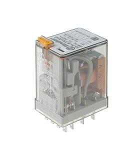 55.32.8.230.0040 - Relé Finder, 230V, 10A, DPDT, 2 Inv - F55328230