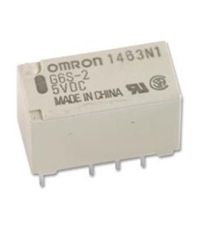G6S-2 12VDC - Signal Relay, 12 VDC, DPDT, 2 A - G6S-212VDC