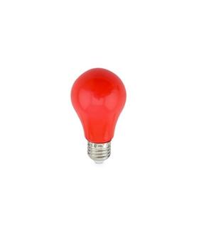 Lâmpada LED E27 230VAC 3W Vermelho - 2002239