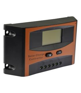 Controlador de Carga Solar 12/24Vdc 10A Com Display - 3IPSSOLD10