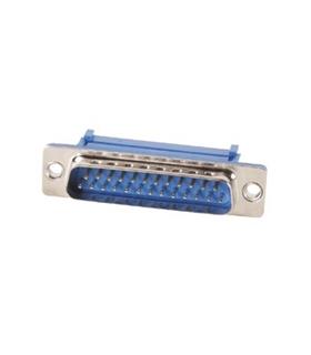 Ficha De 25 Pinos Macho Flat Cable - 69D25PMFC