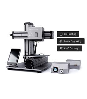Impressora 3D 3-em-1 Laser + CNC - SNAPMAKER3D