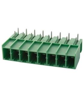 PC 4/8-G-7.62 - Bloco Terminais Header 7.62mm 8vias 20A - 69PC48G762