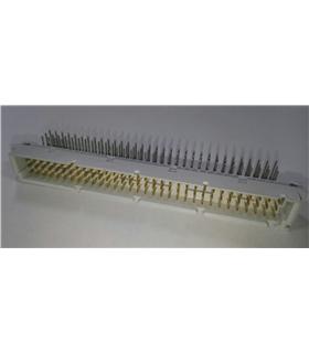 M55302/131-01 - Conector DIN41612 3x32 Pinos 90º Macho - M55302/131-01