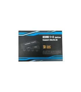 Splitter HDMI Amplificado 1 Entrada 4 Saídas 4K - ST0406