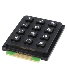 Teclado Numerico Universal - 12 Teclas - MX0964016