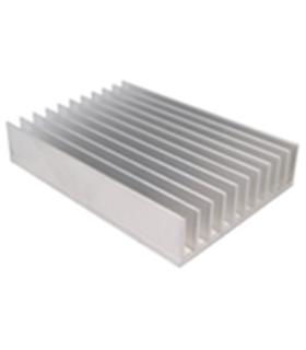 Dissipador de Calor em Aluminio 180x124x35mm - MX0120162
