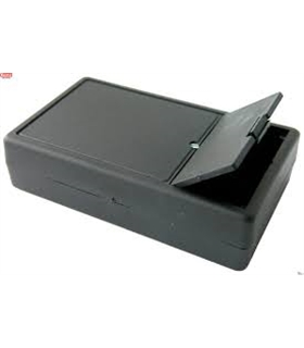 Caixa PVC com compartimento para bateria de 9V 101x60x - DNG01B