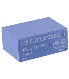 R22-5D16-24 - Rele SPDT 120VAC 30VDC 16A - R225D1624