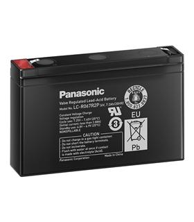 LC-R067R2P - Bateria 6V 7.2Ah 151x97.5x34mm Panasonic - LC-R067R2P