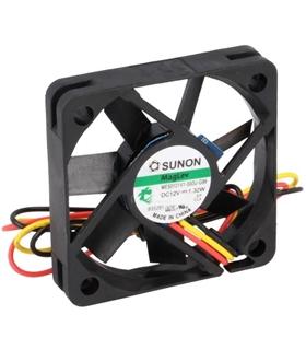 SF23080A2083HBL - Ventilador 230VAC 80x80x38mm 2 Fios - SF23080A2083HBL
