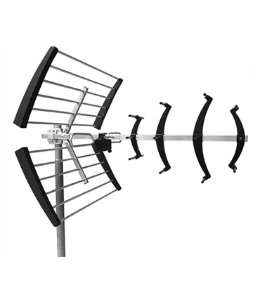 Antena UHF serie NEO compacta, canais 21/48, G=16db - NEO-047