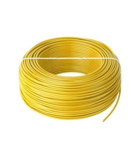 Fio Multifilar 1.5mm Amarelo - H05VK1.5Y