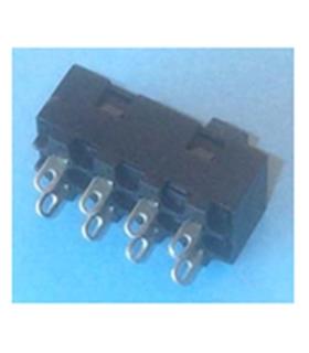 Interruptor Deslizante 3 Posições Bipolar DPDT 250V 6A - MX0100153