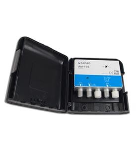 Amplificador 1 entrada, UHF G=32 dB, rejeição LTE 700 - AM-195
