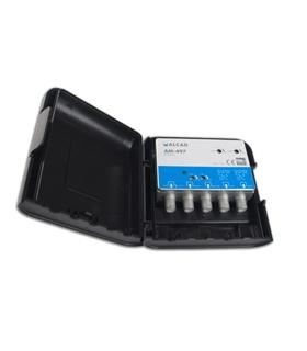 Kit 4 entradas, UHF-UHF-BIII/DAB-FM, UHF G=32 dB, LTE 700 - BO-497