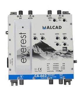 Amplificador multibanda 4 entradas, 1 saida, LTE 700 - CA-662