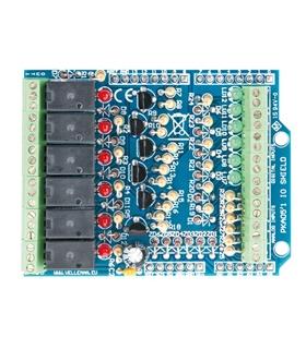Kit Velleman I/O Shield para Arduino Assemblado - VMA05