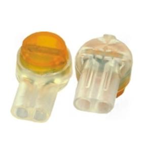 Ligador amarelo para 2 fios - 011-0464