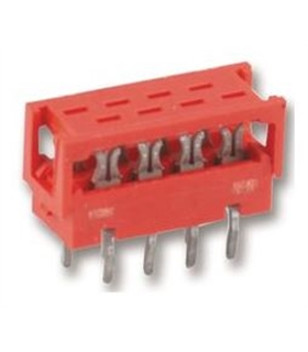 1-215570-6 -  Connector Cabo/Placa 16 pinos - 1-215570-6